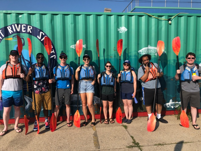 Fehl Group outing - 2021 kayak